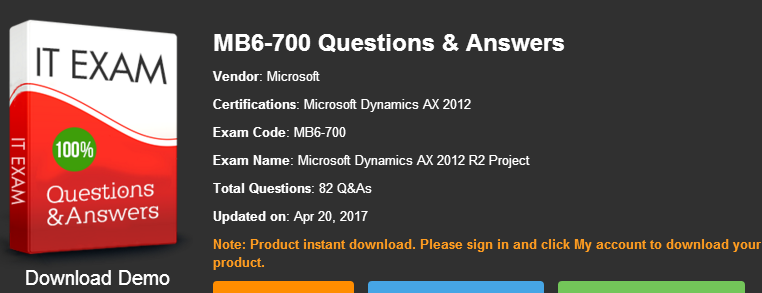 mb6-700 exam