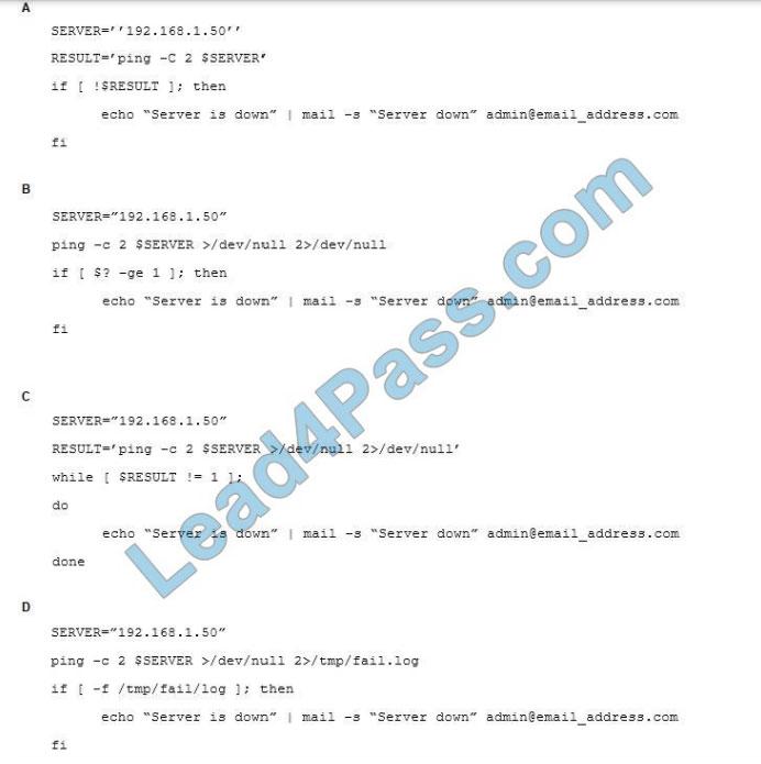 [2021.3] lead4pass xk0-004 practice test q13